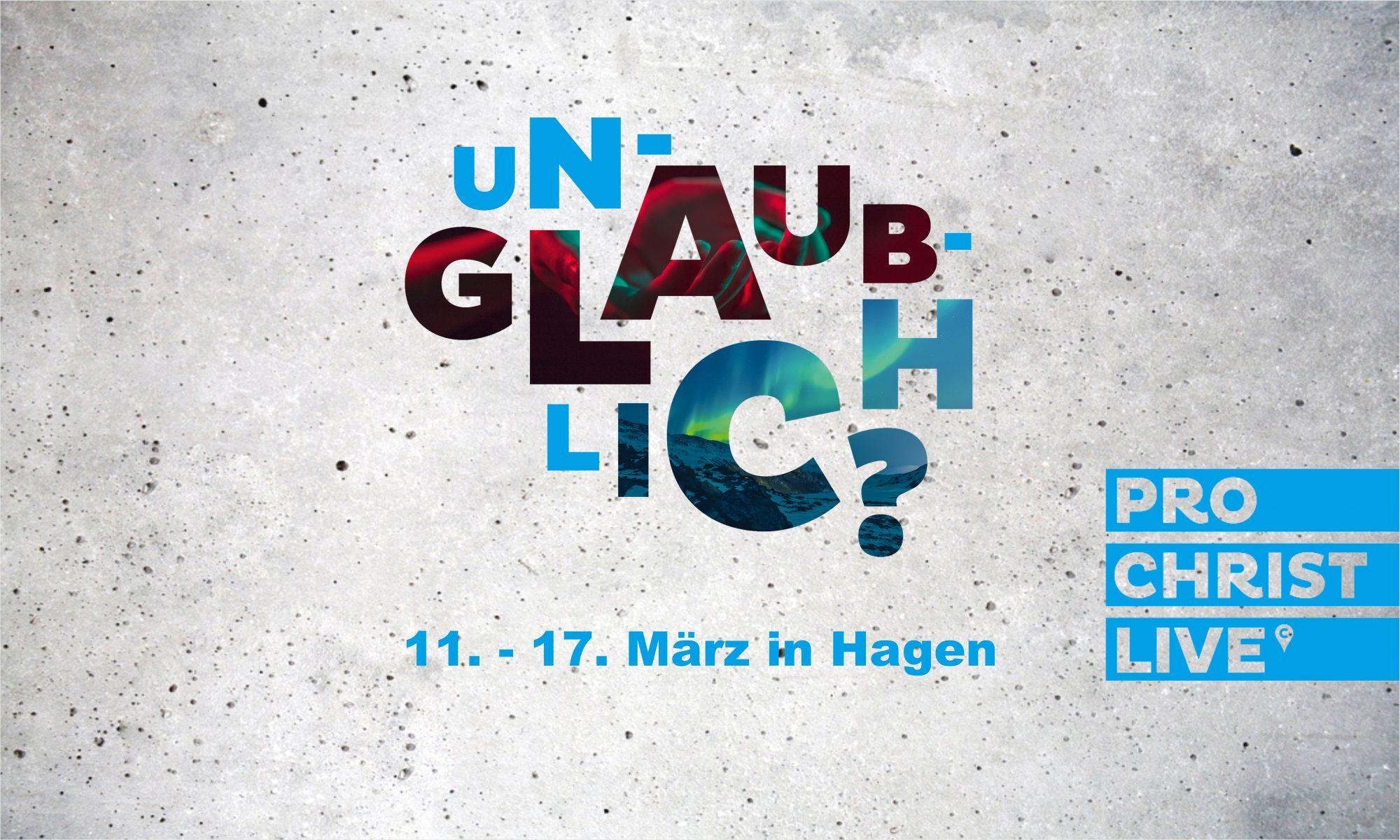 ProChrist 2018 in Hagen